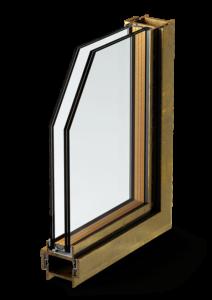 profilo b40 - bronzo finestra