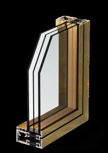 profilo b75 - bronzofinestra