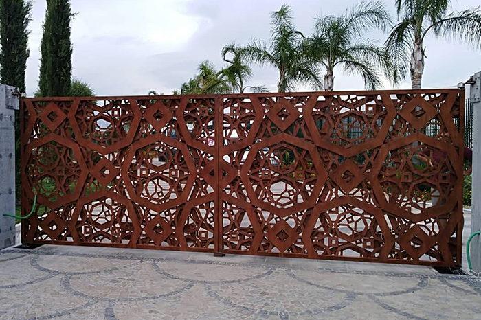 lavorazione metalli cancello